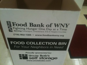 Food Drive at Cazenovia Library